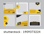 set of sale banner with new... | Shutterstock .eps vector #1909373224