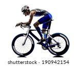 man triathlon iron man athlete... | Shutterstock . vector #190942154