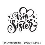vector hand drawn lettering...   Shutterstock .eps vector #1909443487