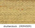 Brick Yellow Wall