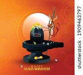 illustration of lord shiva... | Shutterstock .eps vector #1909463797