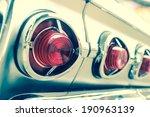 oldtimer  vintage light car ... | Shutterstock . vector #190963139