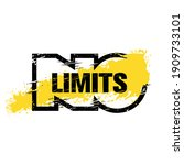 no limits. strong workout gym...   Shutterstock .eps vector #1909733101