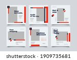 hype social media post template ...   Shutterstock .eps vector #1909735681