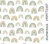 kids seamless pattern with hand ... | Shutterstock .eps vector #1909772107