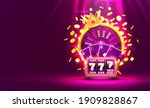casino golden colorful fortune... | Shutterstock .eps vector #1909828867