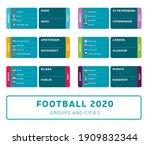 football euro 2020 tournament... | Shutterstock .eps vector #1909832344