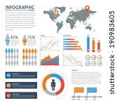 human infographic vector... | Shutterstock .eps vector #190983605