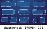 set of sci fi modern user... | Shutterstock .eps vector #1909844221