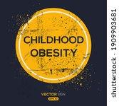 creative sign  childhood...   Shutterstock .eps vector #1909903681