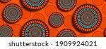 african seamless pattern ... | Shutterstock .eps vector #1909924021