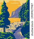 acadia national park in mount... | Shutterstock .eps vector #1909927987