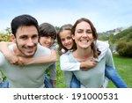 Happy Family Having Fun In Hom...