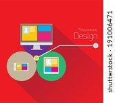 vector modern color responsive...
