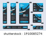 city background corporate web... | Shutterstock .eps vector #1910085274