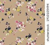 garden flower  plants ... | Shutterstock .eps vector #1910105494