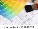 projects of houses with a color ... | Shutterstock . vector #191013071