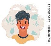 cartoon vector illustration of... | Shutterstock .eps vector #1910153131