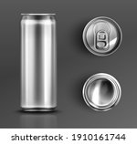 tin can with open key front ... | Shutterstock .eps vector #1910161744