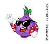 vector mascot  cartoon  and... | Shutterstock .eps vector #1910171191
