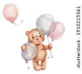 Cute Little Teddy Bear With...
