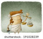 lady justice | Shutterstock . vector #191028239
