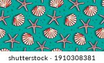 colored seamless pattern... | Shutterstock .eps vector #1910308381
