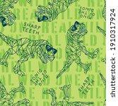 seamless pattern of a geometric ...   Shutterstock .eps vector #1910317924