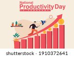 national productivity day... | Shutterstock .eps vector #1910372641