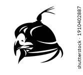 falcon wearing hood cover  ... | Shutterstock .eps vector #1910402887