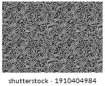 pattern with stormy twisted... | Shutterstock .eps vector #1910404984