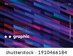 minimal geometric background.... | Shutterstock .eps vector #1910466184