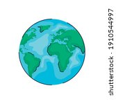 world planet earth ecology icon ...   Shutterstock .eps vector #1910544997