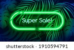 neon light banner in... | Shutterstock .eps vector #1910594791