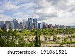 calgary  alberta  canada   june ... | Shutterstock . vector #191061521