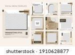 social media template banner...   Shutterstock .eps vector #1910628877
