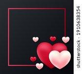 valentines day background... | Shutterstock .eps vector #1910638354