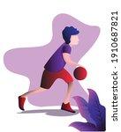 brebes indonesia  february 06... | Shutterstock .eps vector #1910687821