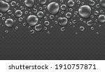 rain water drops on transparent ... | Shutterstock .eps vector #1910757871