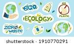 a set of vector environmental...   Shutterstock .eps vector #1910770291