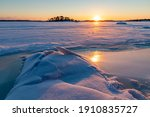 Frozen Gulf Of Finland At...