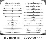 a collection of european... | Shutterstock .eps vector #1910935447