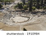amphitheater in the acropolis ... | Shutterstock . vector #1910984
