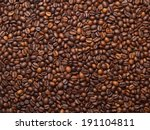 numerous coffee beans which... | Shutterstock . vector #191104811