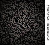 Ramadan Kareem. Black Abstract...