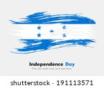 flag of honduras | Shutterstock .eps vector #191113571