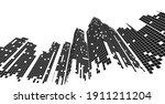 building perspective  cityscape ...   Shutterstock .eps vector #1911211204