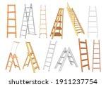 creative metal and wooden... | Shutterstock .eps vector #1911237754