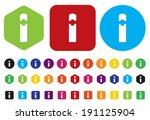 usb flash drive icon | Shutterstock . vector #191125904