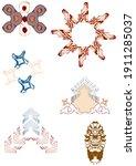 makli architectural design... | Shutterstock . vector #1911285037